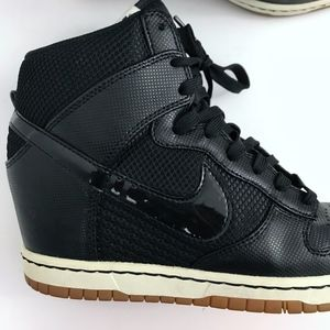 72111e3ff660 Nike Shoes - Nike Dunk Sky Hi Wedge Sneaker Limited Edition - 9